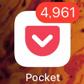 Pocket未読数